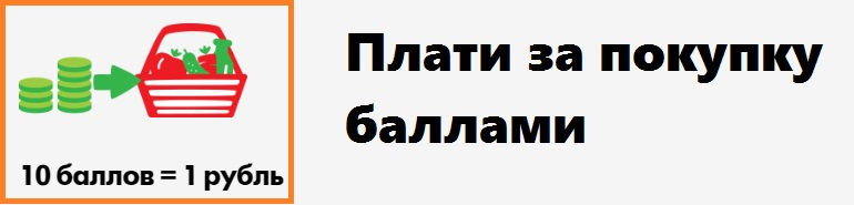Баллы в рублях