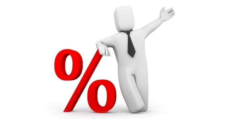 Наращивание процентов с Красное и Белое