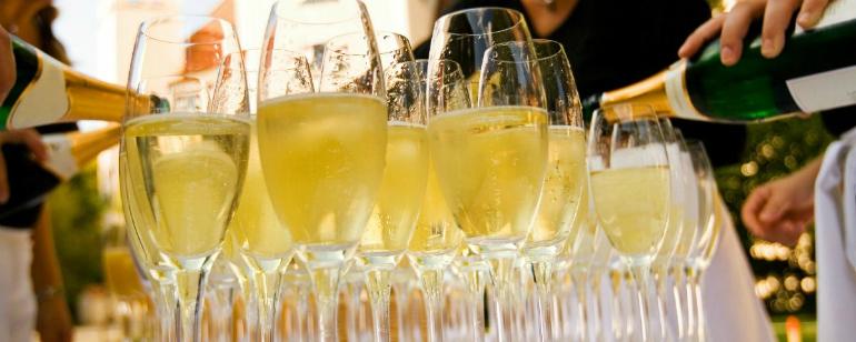 брендовое шампанское